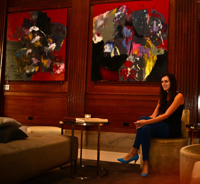 Nicole Tartaglia Le Meridien Paintings
