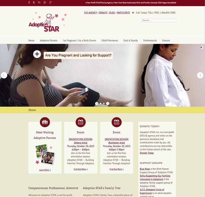 Nicole Tartaglia Adoption STAR website